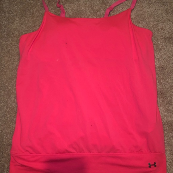 Under Armour Tops - under armour tank with built in bra